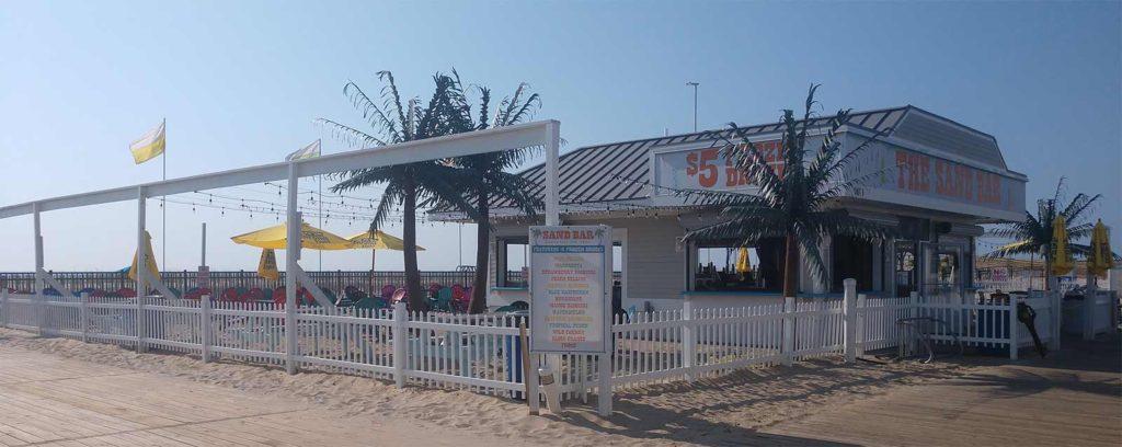 Sandbar in Seaside Park